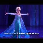 『アナと雪の女王』の「Let It Go」を英語で一緒に歌おう♫
