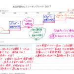 2017年の英語学習プランを書いてみよう☆
